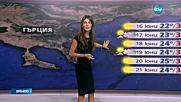 Прогноза за времето (15.06.2016 - обедна)