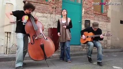 Zaz - Dans ma rue - acoustique (edith Piaf cover)
