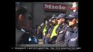 Напрежение на днешният протест/04.09.2013