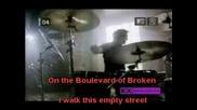Green Day - Boulevard Of Broken Dreams Karaoke