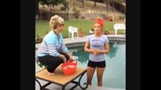Eva Marie - Ice Bucket Challenge