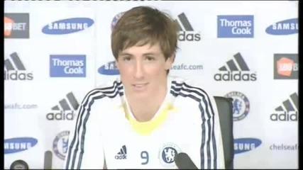 Chelsea Fc - Torres Пресконференция