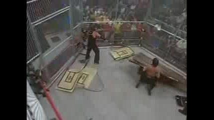 Nwa Lockdown Jeff Vs. Raven /Table Match/