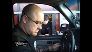 Steve Meade събира очите на касиера! - Chevy Tahoe 4x18 + Rf Amps