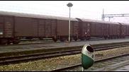 Товарен влак през Сталач