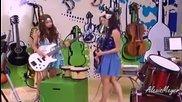 Виолета 2 - еп. 55, момичетата репетират Codigo amistad + субтитри
