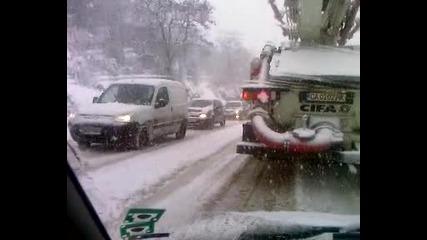 снеговалеж на Владая