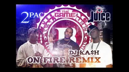 Juice - On Fire Remix Ft The Game Amp Tupac