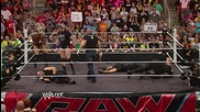 The Shield vs. Evolution Wwe Payback contract signing Raw, May 26, 2014