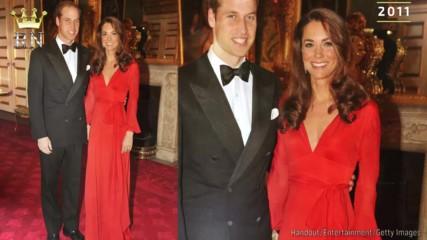 Най-бляскавите вечерни рокли на Кейт