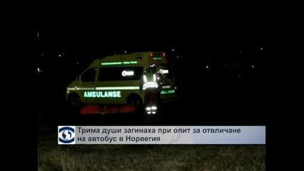 Трима души загинаха при опит за отвличане на автобус в Норвегия