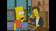 Семейство Симпсън - Барт и телефон eng