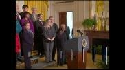 Обама е отворен за преговори с Конгреса по бюджета и дълга