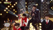 131222 Seo In Guk & Vixx – Winter Propose @ Sbs Inkigayo (no.1 Nominees)