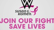 Join WWE in support of Susan G. Komen