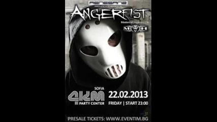 Angerfist In Bulgaria / Angerfist в България - 22.02.2013 /18+/