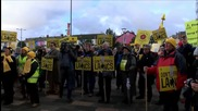 UK: Anti-frackers rally in Blackpool as energy firm appeals Lancashire fracking refusal