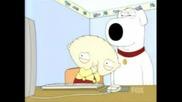 Family Guy - Реакцията На Стюи - 2 Girls 1 Cup