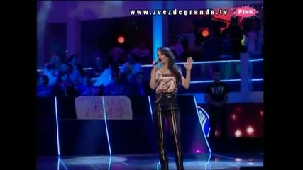 *превод* - Zvezde Granda 2010 - Mirjana Aleksic - Ja nisam rodjena da zivim sama