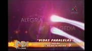 Anahi En Promo De Vidas Paralelas En Nx