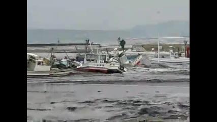 Разрушаващото цунами в Япония