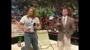 Triple H В Шоуто На Карлито (part 1/2)