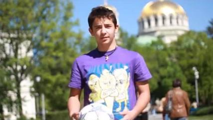 Freestyle Football урок Tou Bounce и Reverse Crossover - Енис Тодоров