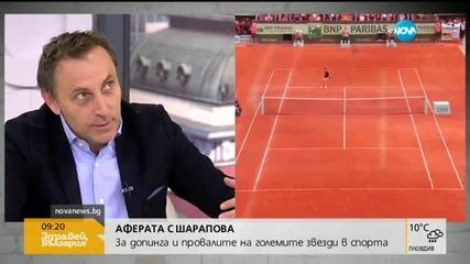 Българският коментар по допинг аферата Шарапова