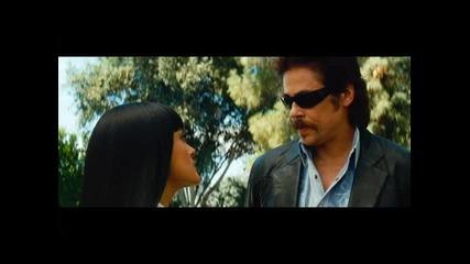 Диваци - откъс от филма с Бенисио Дел Торо (премиера 28 септември)