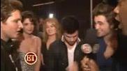 Twilight Cast Backstage Mtv Movie Awards 2009