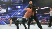 Kevin Owens and Sami Zayn attack AJ Styles on SmackDown LIVE: Wal3ooha, 22 February, 2018
