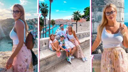 Семейно бягство в Дубровник: Джаферович стегнаха куфарите и отидоха на ваканция