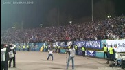 (сектор Б) Левски срещу Лил 04.11.2010 (sector B against Lille) Hd