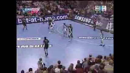 Handball Headshot