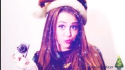 Merry Christmas ...cp ; Miley.cyrus ;