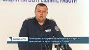 Полицията отстрани палатковите лагери на централните кръстовища в София