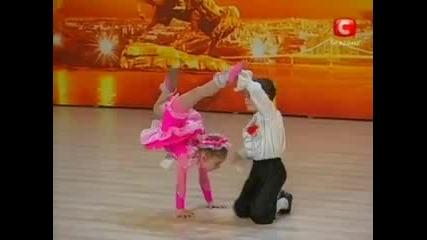 Карина Рудницкая и Юрий Кузинский - Україна має талант