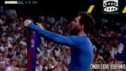 Коментатори се побъркват на голът на Лео Меси срещу Реал Мадрид