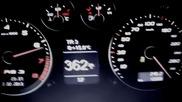 Ауди Rs3 пълни километража 0-365 км/ч