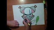 Как да нарисуваме череп...