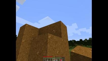 Minecraft #1 нека отцелеем в луксозна дупка