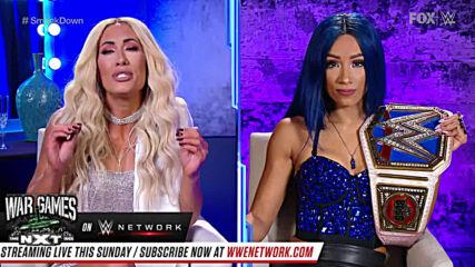 Sasha Banks challenges Carmella to a showdown at WWE TLC: SmackDown Dec. 4, 2020