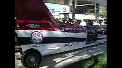 Sema 2008 Car With Plane Engine Tuning
