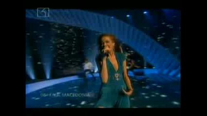 Евровизия 2007 Финал - Македония: Каролина