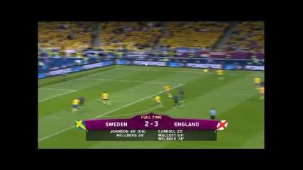 Eвро 2012-всички голове в групите