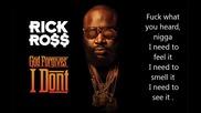 Rick Ross - Pirates * Lyrics video *