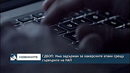ГДБОП: Има задържан за хакерските атаки срещу сървърите на НАП