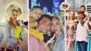 Семейство Батинкови избягаха на поредното си екзотично пътешествие