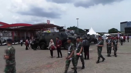 Indonesia: Indo Defence 2016 launches with 'tank-boat'