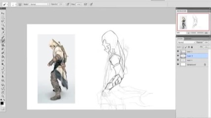 Speed Video Art Process Connor Kenway (assassin's Creed 3)